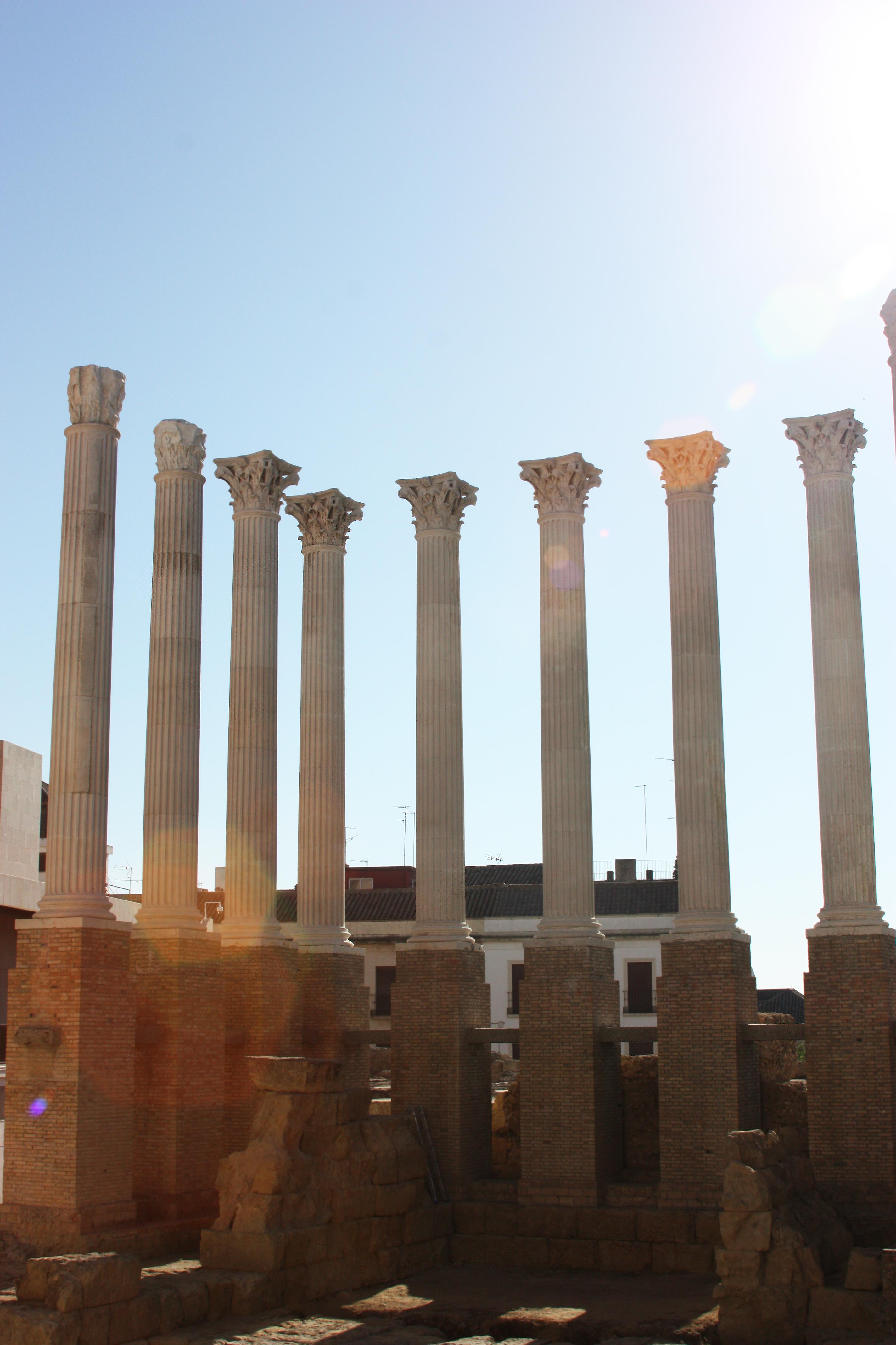Templo Romano de Córdoba. Mantenimiento, conservación y restauración