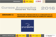 Grupo Puma en los cursos avanzados Eduardo Torroja 2016