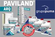 PAVILAND ARQ, the new Grupo Puma microcement