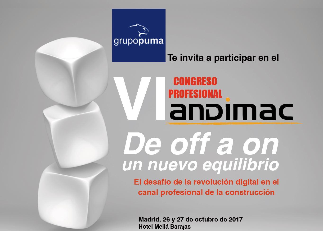 VI Congreso Profesional Andimac