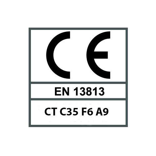 EN 13813 - CT C35 F6 A9