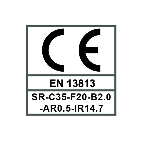 SR-C35-F20-B2.0-AR0.5-IR14.7