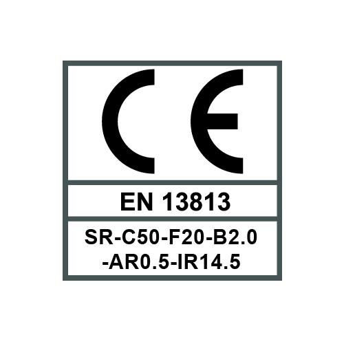 13813 SR-C50-F20-B2.0-AR0.5-IR14.5