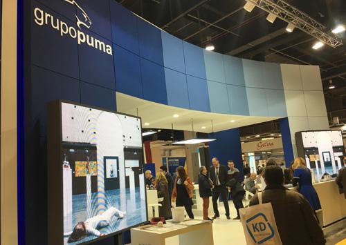 Grupo Puma vuelve con éxito a CEVISAMA