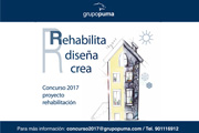 Concurso Técnico 2017 Grupo Puma: REHABILITA DISEÑA Y CREA