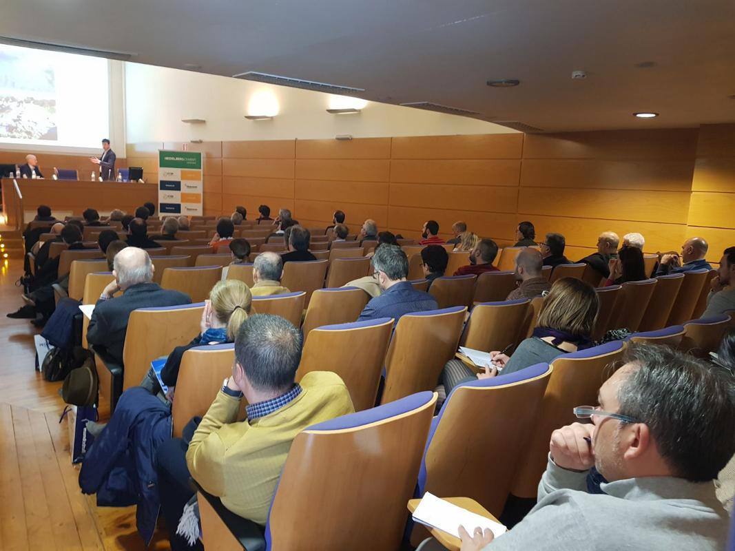 Jornada en el colegio oficial de arquitectos de Valencia