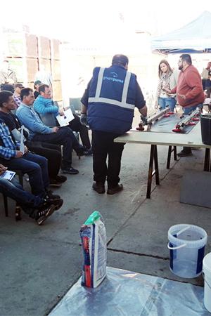 Jornadas de formación sobre cerámica de gran formato