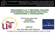 Grupo Puma ha participado en el CICSE en la Escuela Técnica Superior de Arquitectura de Sevilla