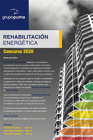Concurso Rehabilitación Energética 2020 - VI Edición