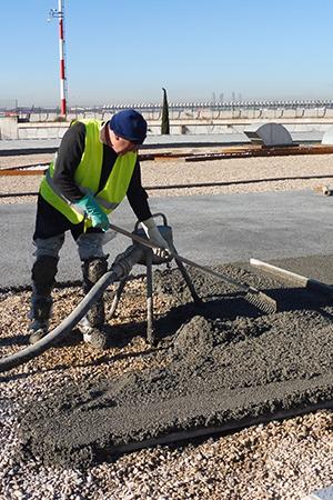 OBRAS PAVIMENTOS: Parking y cubierta del Aeropuerto Adolfo Suárez Madrid-Barajas