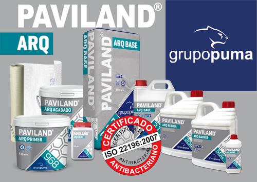 PAVILAND ARQ, le nouveau micro-ciment du groupe Puma