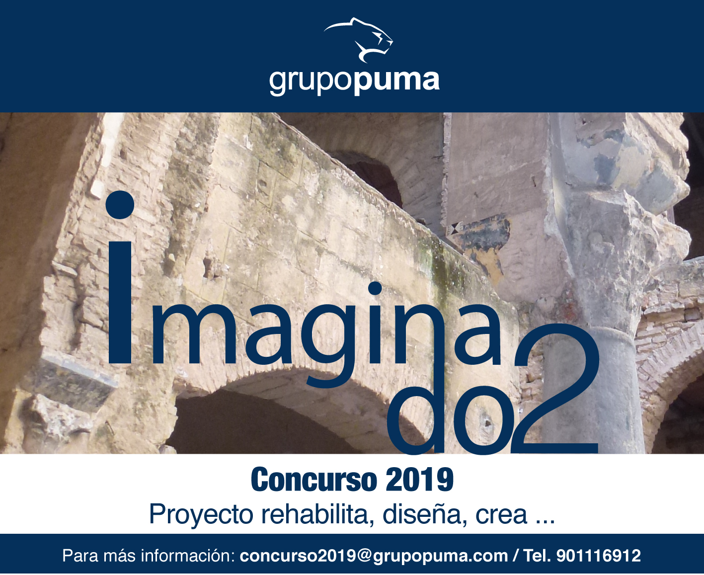 Imaginando2 - Nueva edición del concurso Proyecto, Rehabilita, Diseña, Crea...