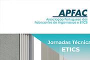 Jornadas ETICS  dirigidas à generalidade dos agentes do sector da construção (APFAC)