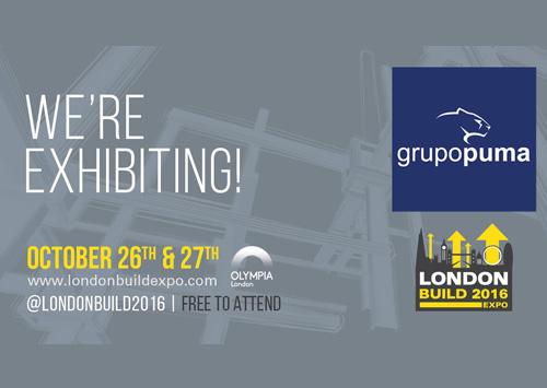 Grupo Puma will be at London Build 2016