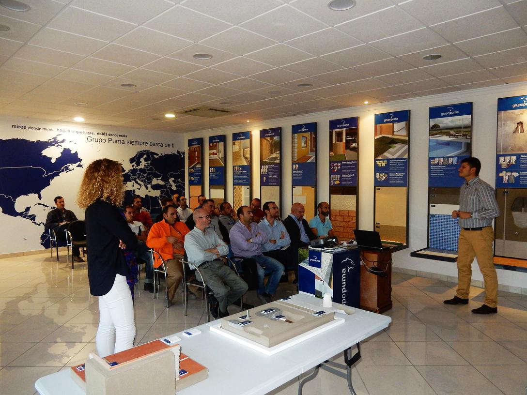 Jornada Técnica reparación, refuerzo e impermeabilización de hormigón en Progesa