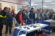 Jornada técnica sobre instalación de cerámica Gran Formato de Grupo Puma y Miguel Muñoz Olivares