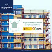 Programa PREE. Rehabilitación Energética de Edificios: GRUPO PUMA puede ayudarte.
