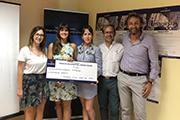 Entrega de premios V Concurso Imagina2 de Grupo Puma