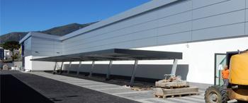SATE Traditerm System reference in Benalmádena LIDL supermarket (Málaga, Spain)