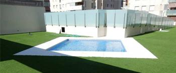Application du système Morcemlite pour la remise en état du revêtement de sol (Teatinos-Málaga)