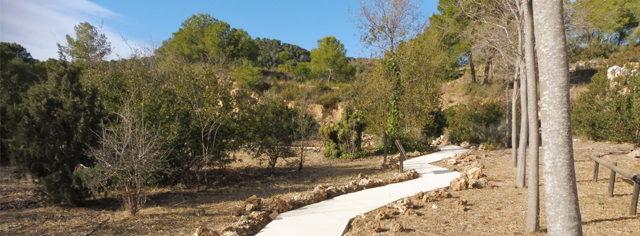 Execution of Territory Pavements of the Villa María Park (Almería)