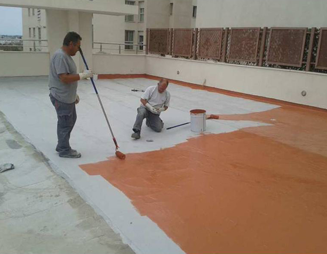 Aplicación sistema Morcemlite para la rehabilitación de cubiertas (Teatinos-Málaga)