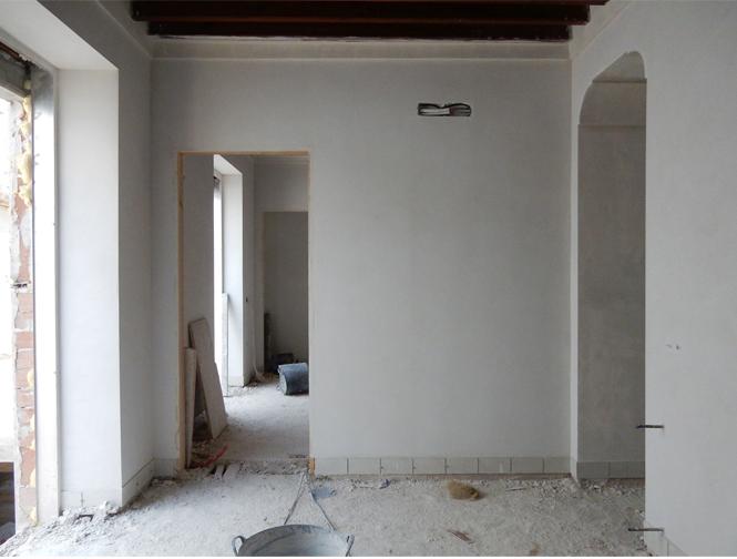 Rehabilitación de vivienda unifamiliar entre medianeras en Castro del Río (Córdoba)
