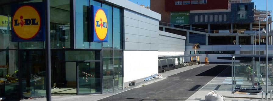 SATE Sistema Traditerm en el supermercado LIDL Benalmádena (Málaga)