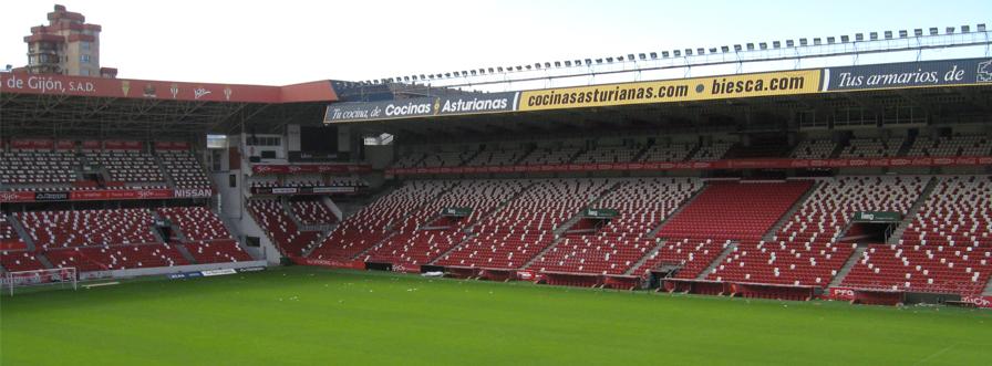 Refuerzo estructural de las gradas en el estadio EL MOLINÓN (Gijón)
