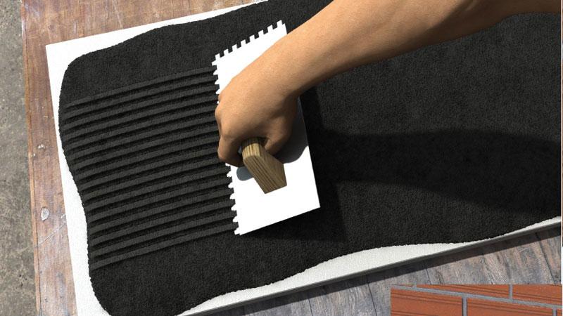 Fijación de paneles aislantes
