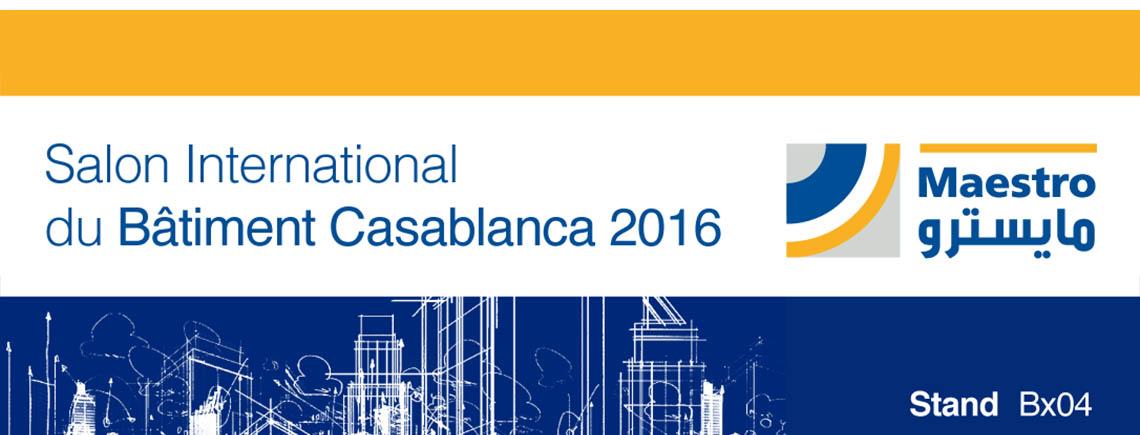 Salón International du Bàtiment Casablanca 2016